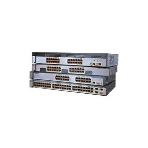 Cisco WS-C3750-24TS-S Catalyst 3750-24TS-S SMI 24Port Switch