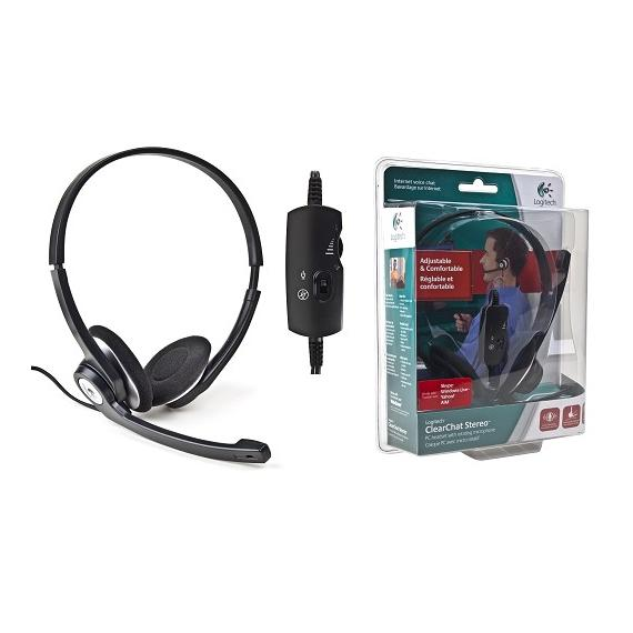 Logitech 981-000009 ClearChat Stereo Headset