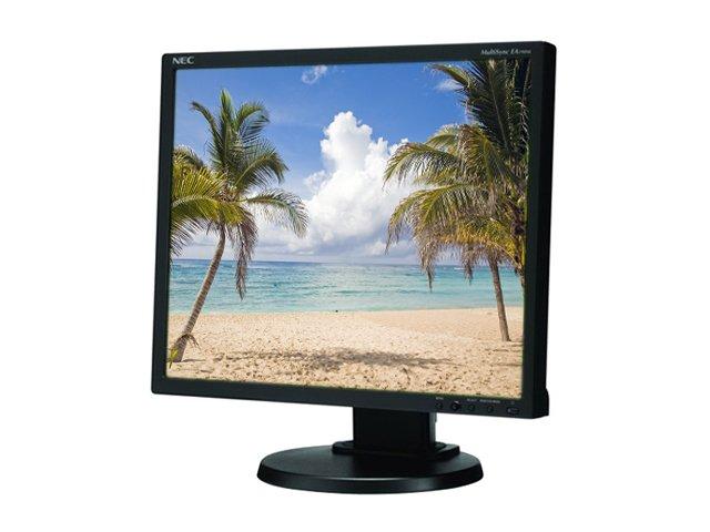 NEC EA190M-BK 19in LCD monitor - Black