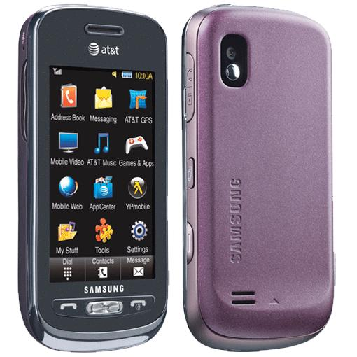Samsung Solstice? Full Qwerty Cell Phone Plum